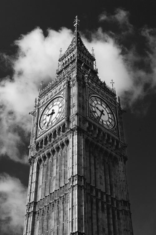 Big Ben Black And White Photo Wall Black And White Pictures Black And White Picture Wall
