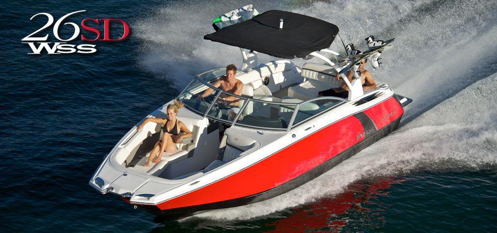 Cobalt Boats 26SD WSS Sport Deck dreaming Boat