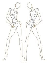 Fashion Illustration Templates Women Google Search Illustrations