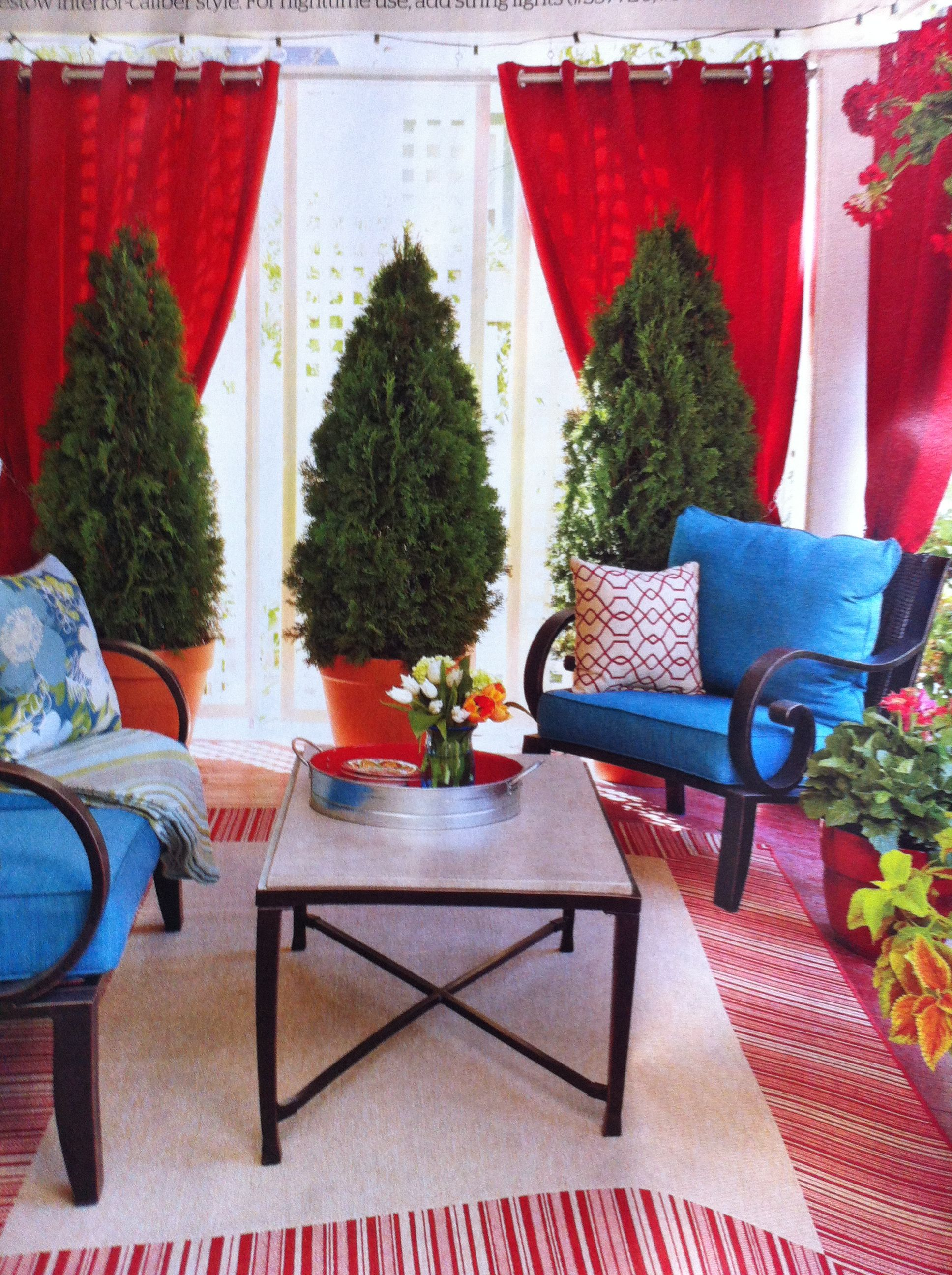 Front porch room with privacy lowes creative ideas