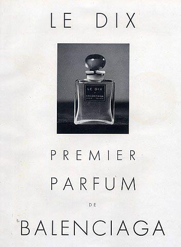 Balenciagaperfumes1948 VintageAdsPublicité Dix Le Dix VintageAdsPublicité Balenciagaperfumes1948 Le UzSMpqVG