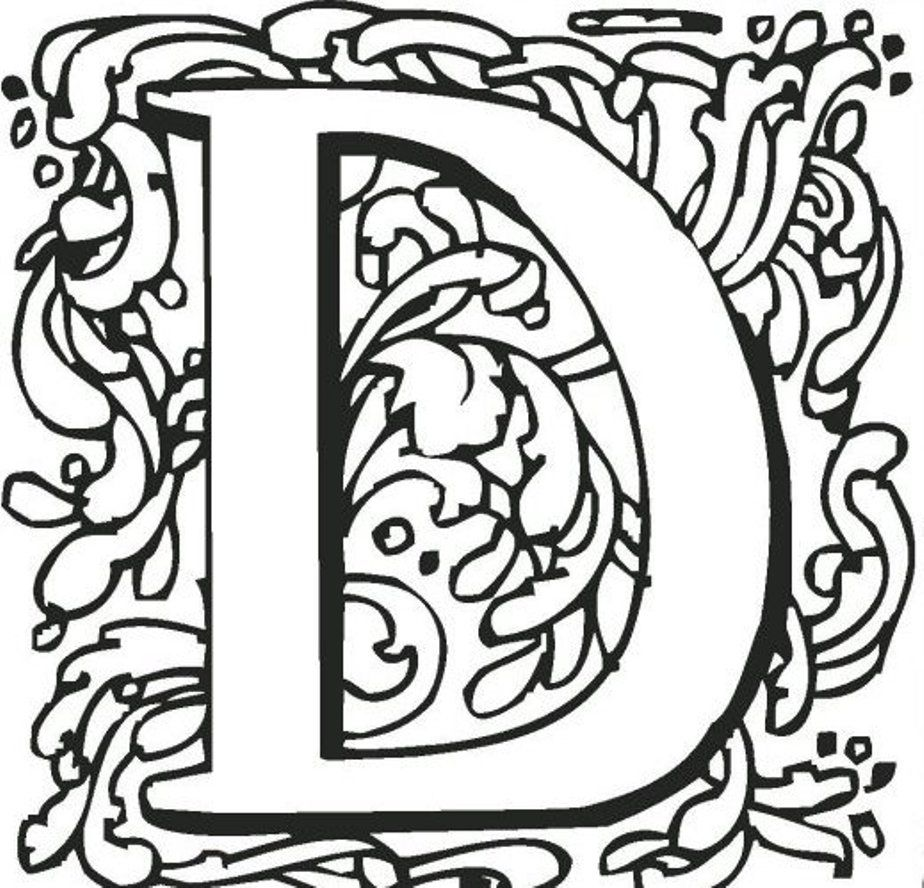 Teenage Printable Alphabet Coloring Pages Alphabet