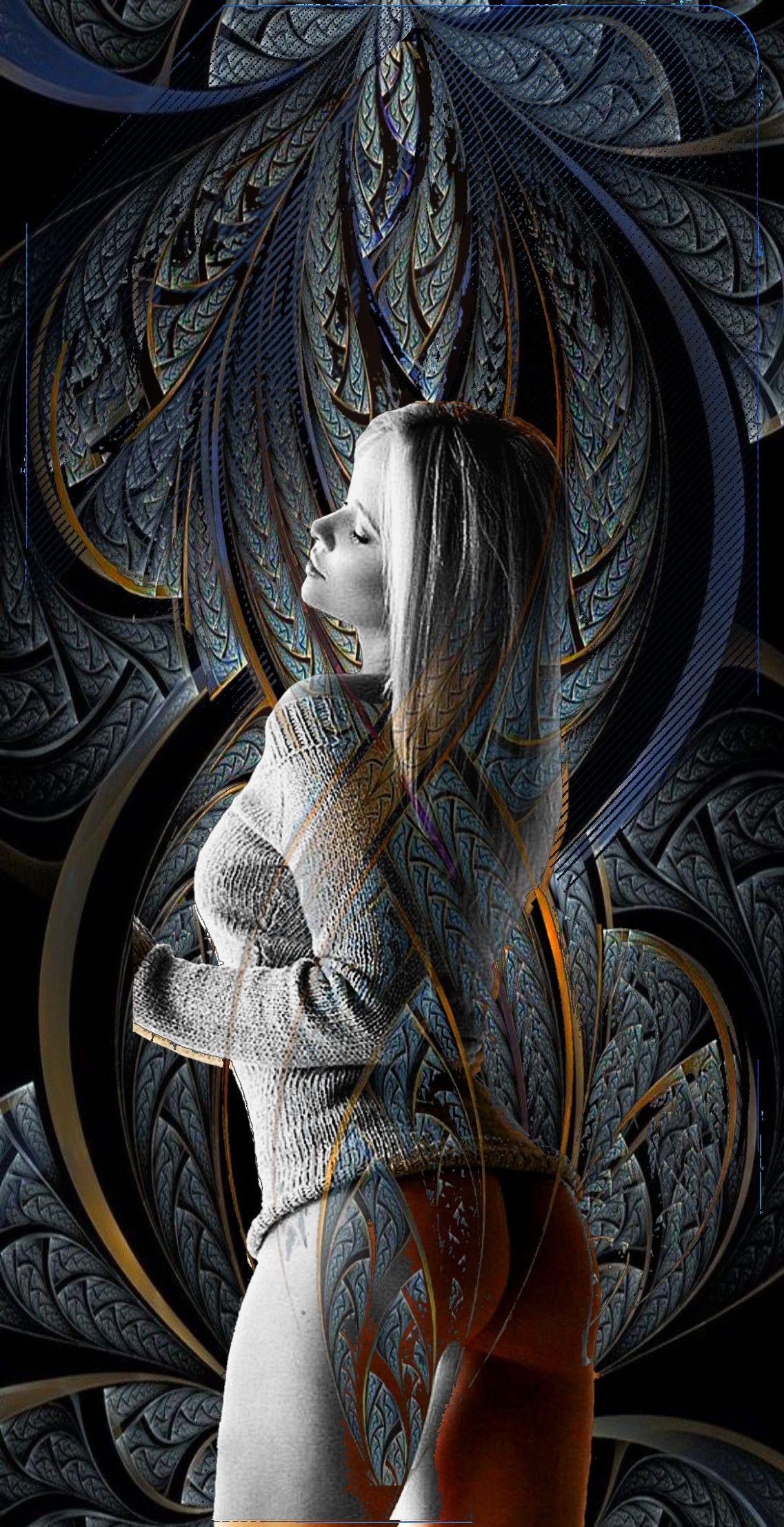 Watercolors image by Mitch Cumberworth Dark fantasy art