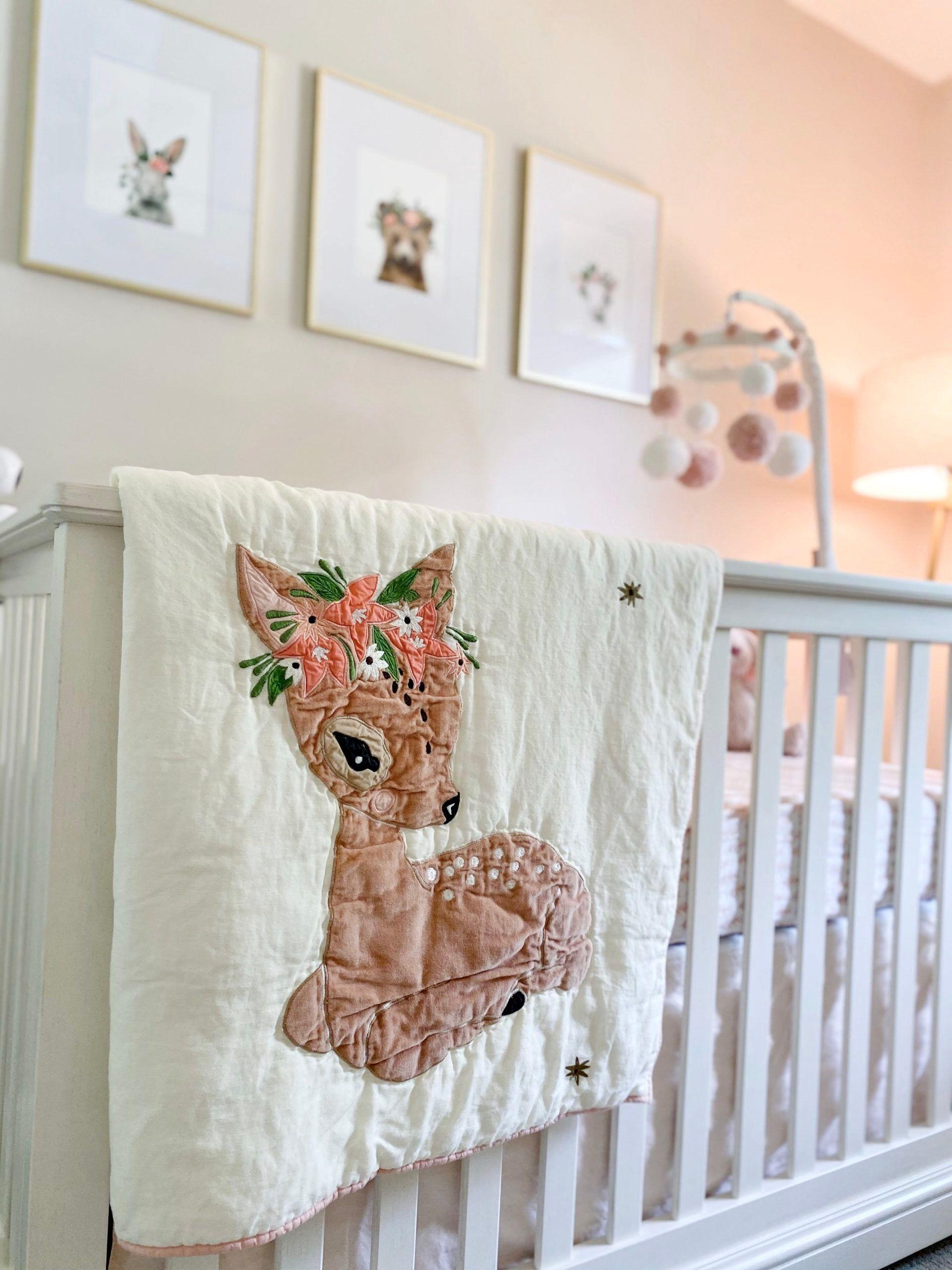 Girls Nursery: Light & Airy Woodland Theme - Project Nursery