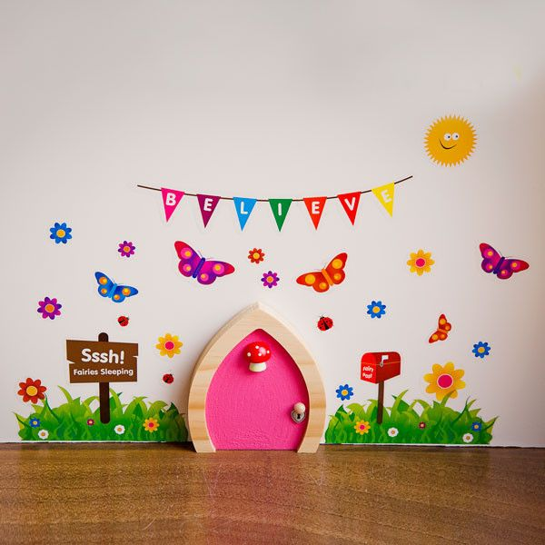 Tooth Fairy Ideas and free printables | Fairy doors, Tooth fairy ...