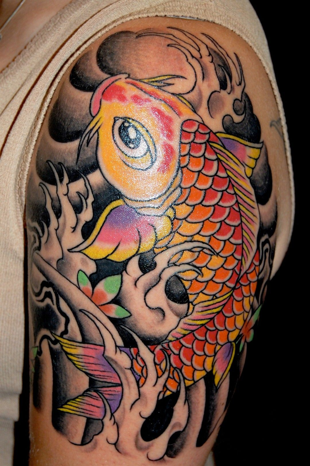 Best Koi Fish Tattoo Ideas Carpa, Tatoo