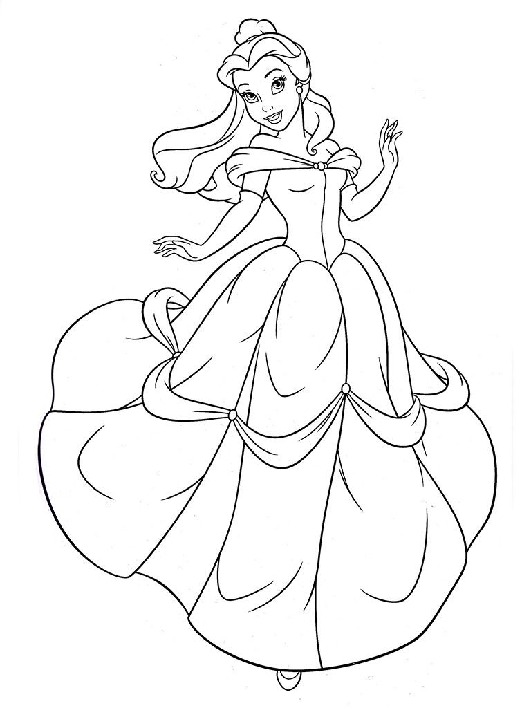 halloween coloring pages halloween coloring page princess belle