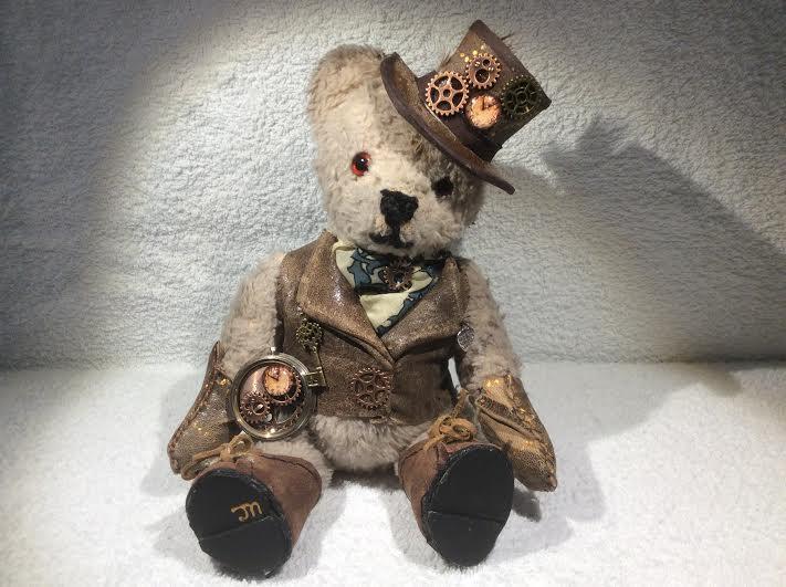 Steampunk bear!!