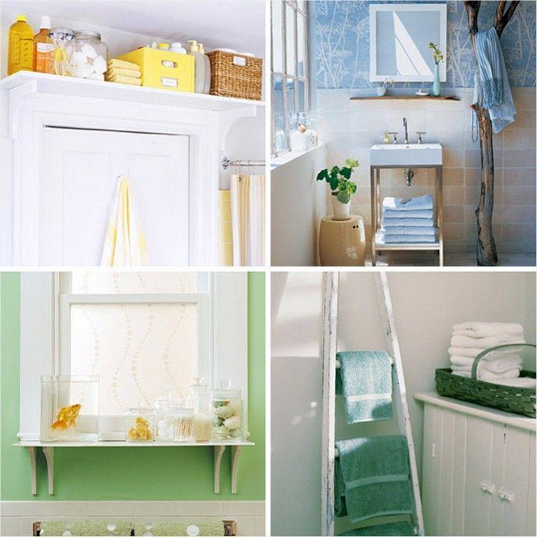 40 best diy small bathroom organization ideas that will