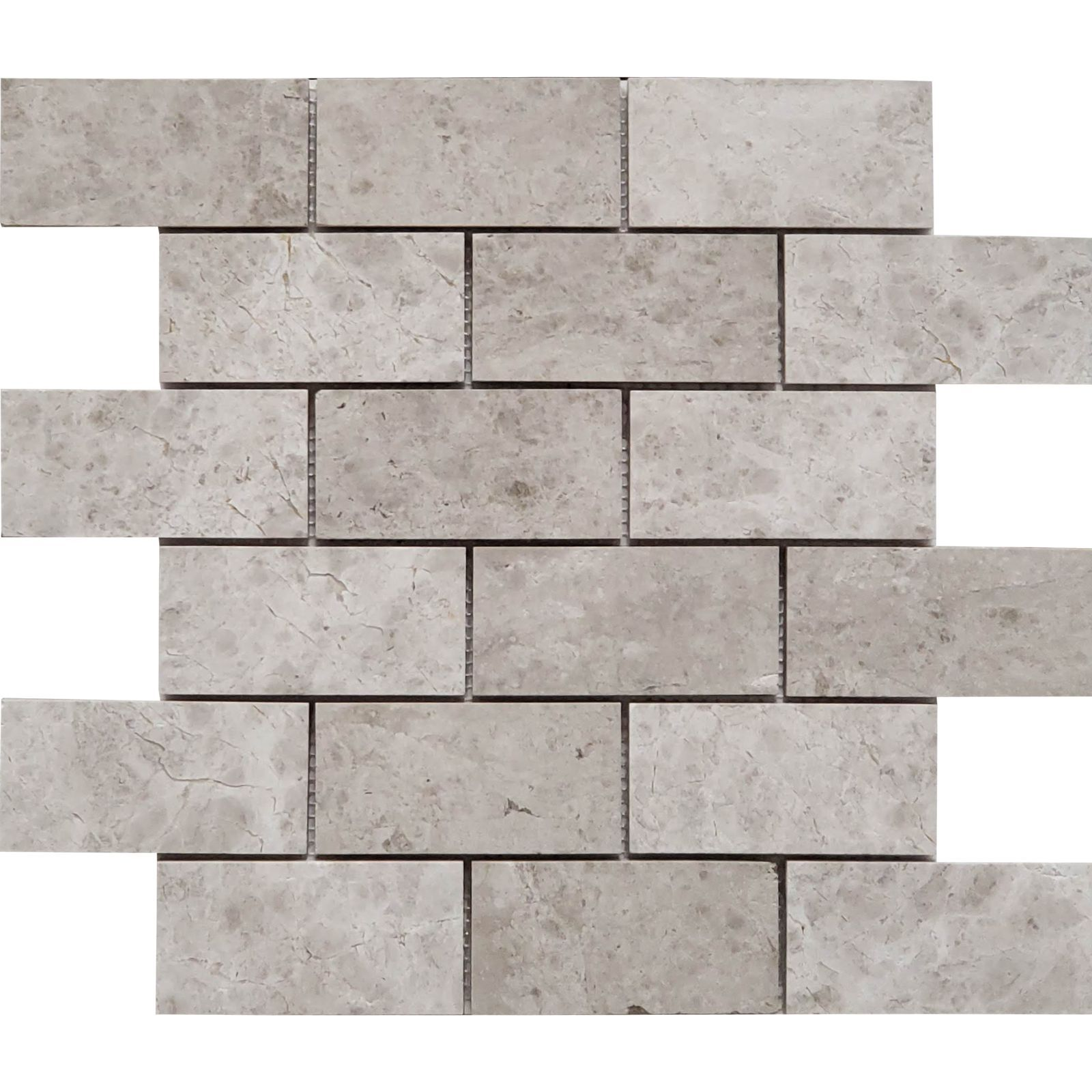 """Tundra Earth Gray Marble Tile Polished-4/""""x4/"""" SAMPLE for 12/""""x12/"""""""