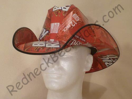 029b642a954f4 Rc Cola Style Soda Carton Cowboy Hat