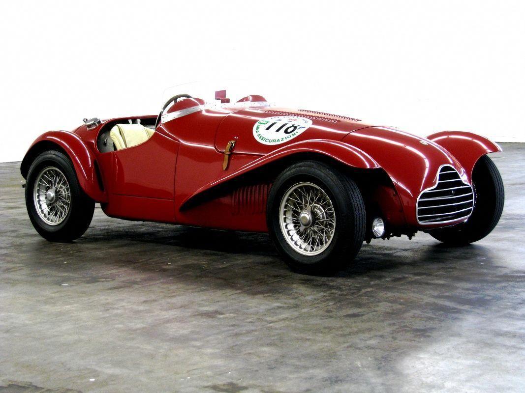 1949 Alfa Romeo 6c Alfa Romeo 6c 2500 Ss Barchetta Competizione