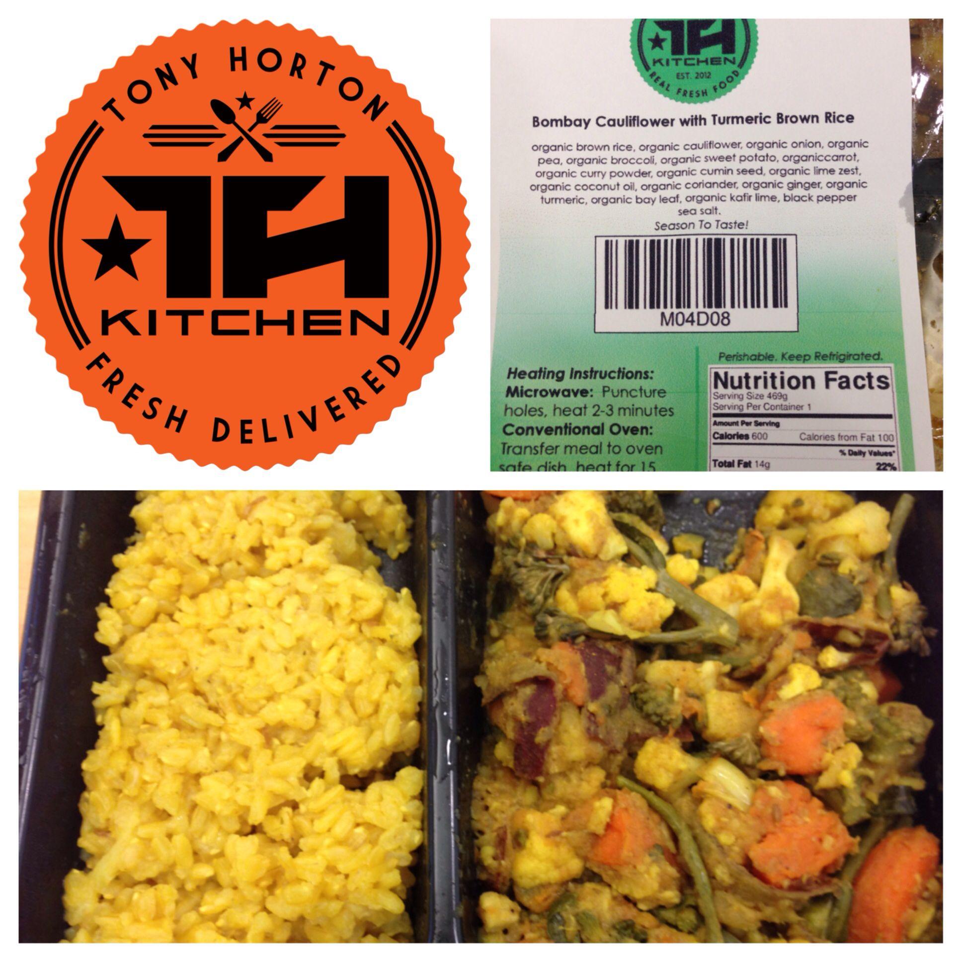 Tony Horton Kitchen - Bombay cauliflower with turmeric brown rice ...