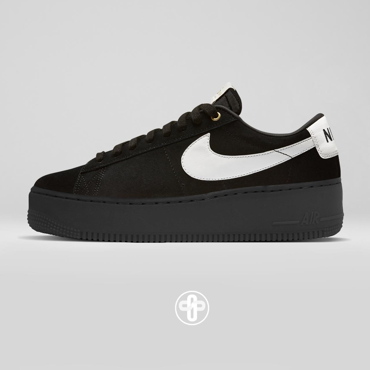 Nike Blazer Creeper Black-White