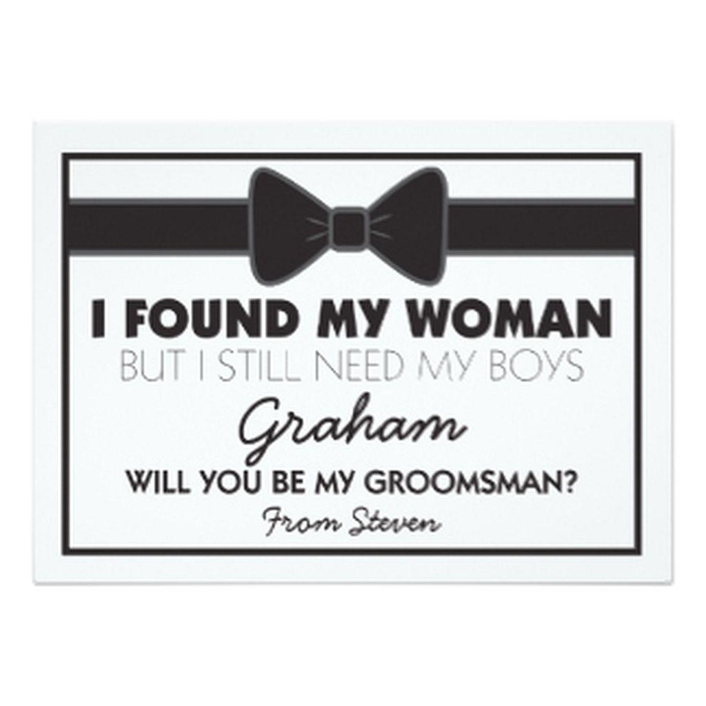 Perfect Groomsmen Bobbleheads Wedding Favors Model - The Wedding ...