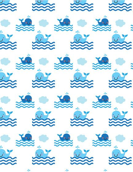 Whale Pattern Print Pattern Pattern Print Patterns Fascinating Whale Pattern