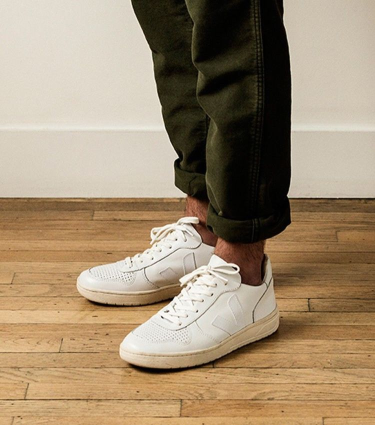 Veja V-10 Extra White   Sneakers outfit