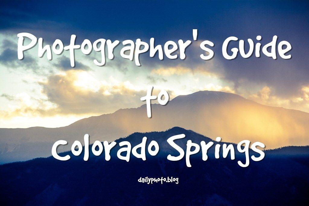 Best photo spots in colorado springs colorado springs