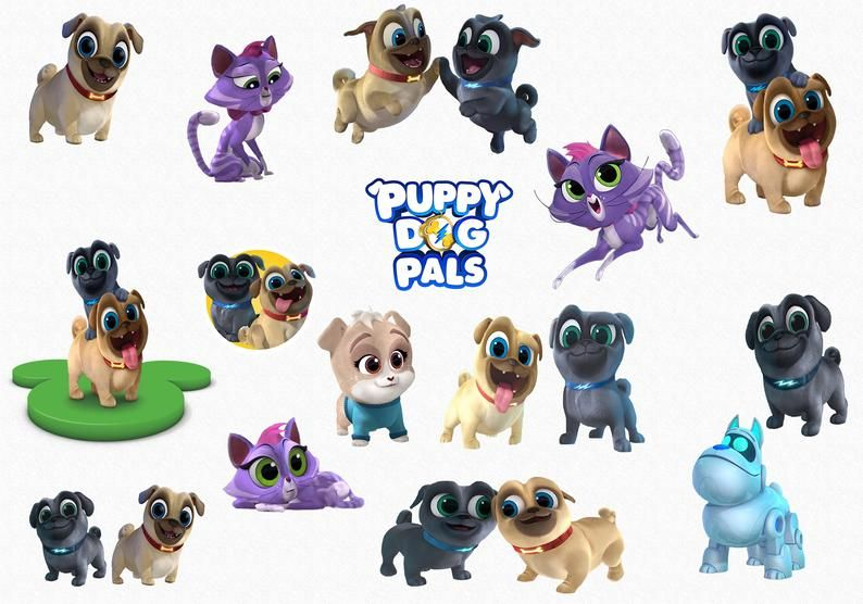 Puppy Dog Pals Clipart 15 High Quality Png Images With Dog Clip Art Clip Art Dogs And Puppies