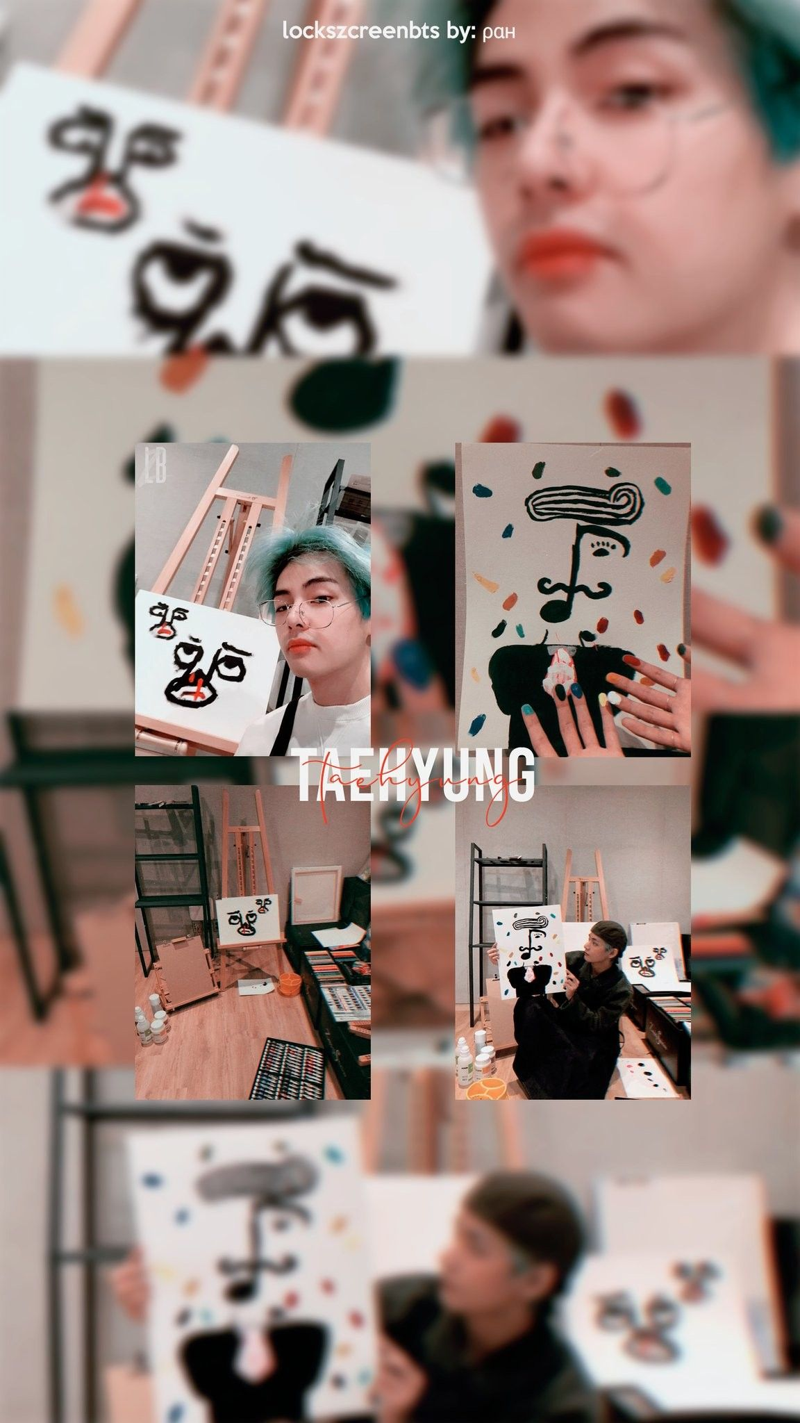 Lockscreen Bts On Twitter Kim Taehyung Wallpaper Kim Taehyung Bts Wallpaper Aesthetic lockscreen bts v wallpaper