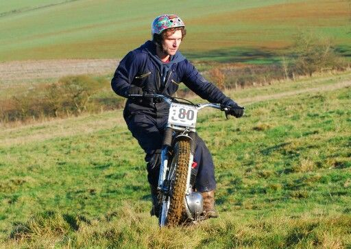 Guy Martin training