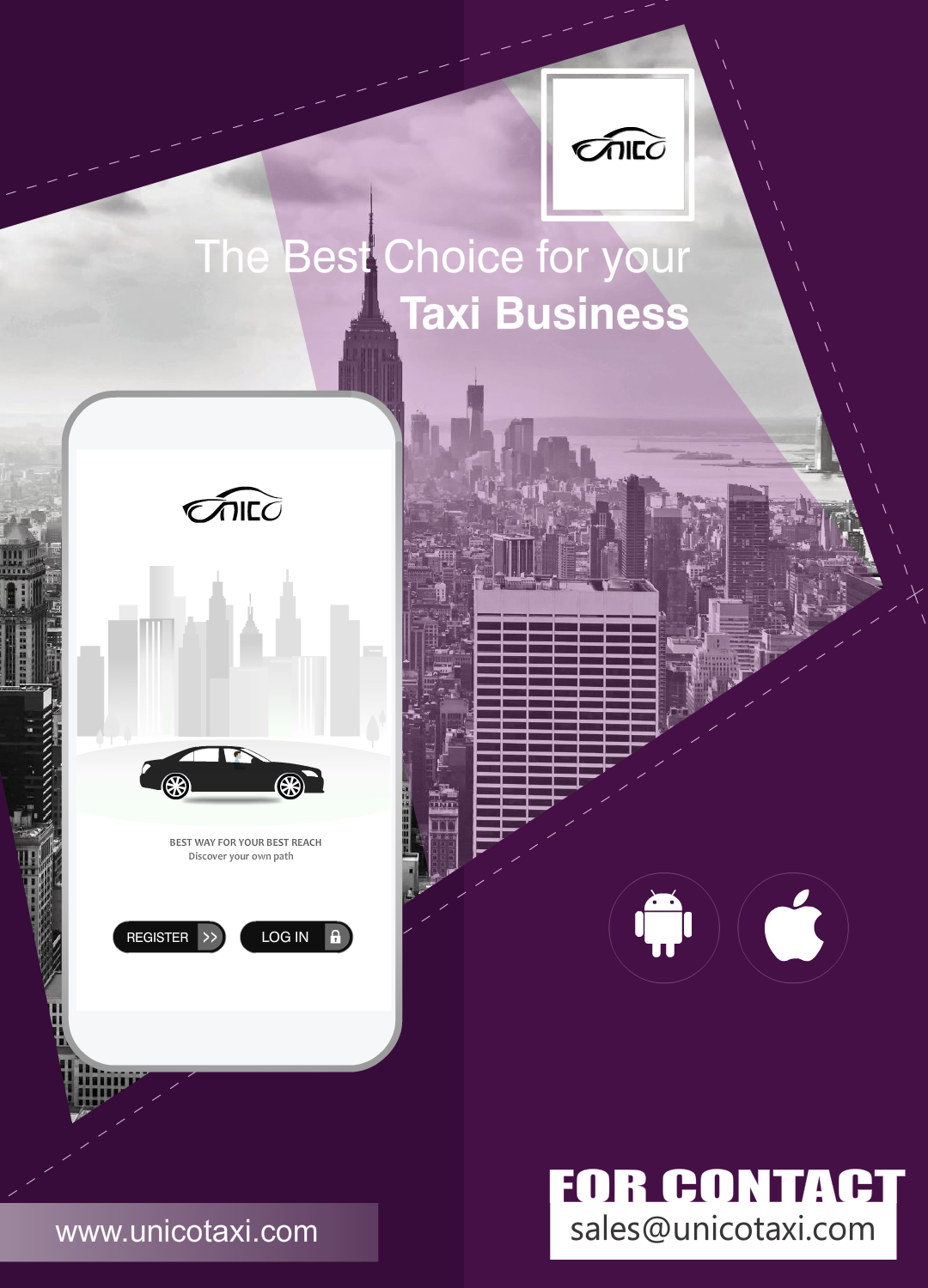 UNICO Taxi, a Versatile and Cost-Effective Taxi Solution