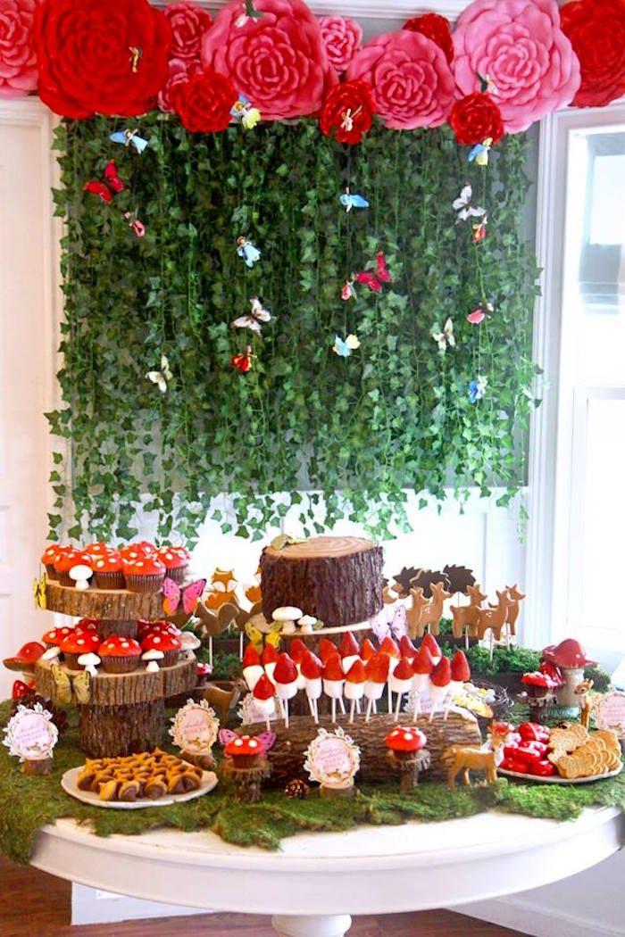 Woodland Fairy Party | Kara's Party Ideas