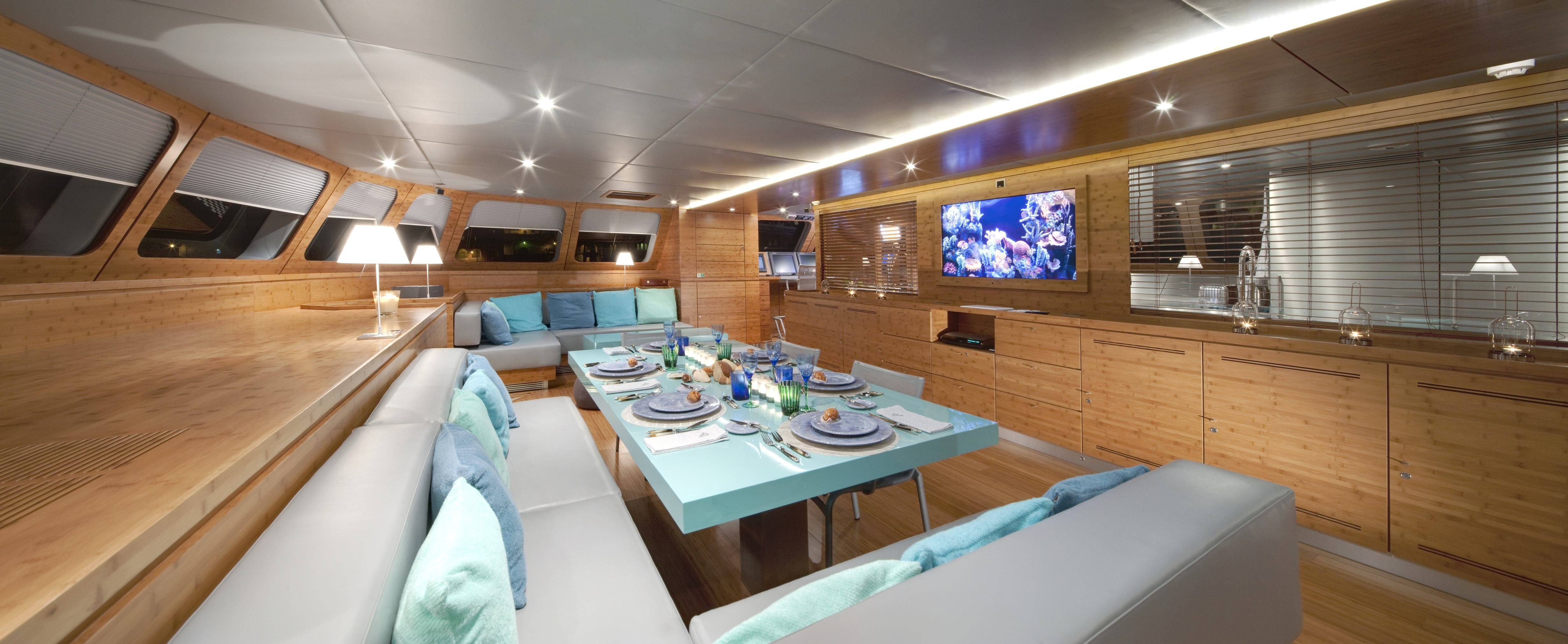 Yacht interior design is one of the modern style of the interior ...