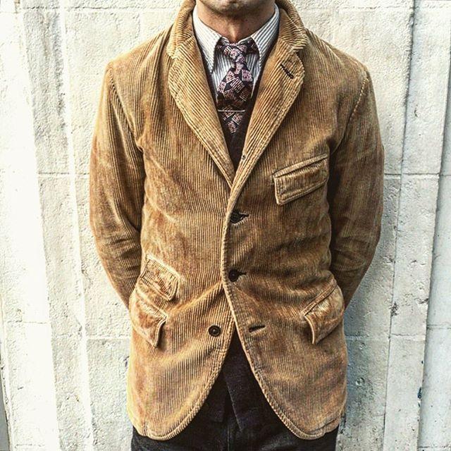 21267176c Ralph Lauren Double RL, RRL - Parker Corduroy Blazer | menswear ...