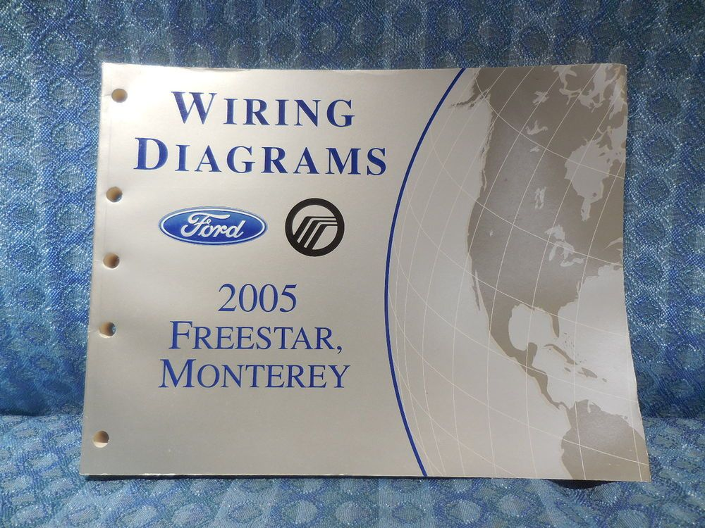 2005 ford freestar \u0026 mercury monterey oem wiring diagrams manual 2005 Ford Five Hundred Wiring Diagram