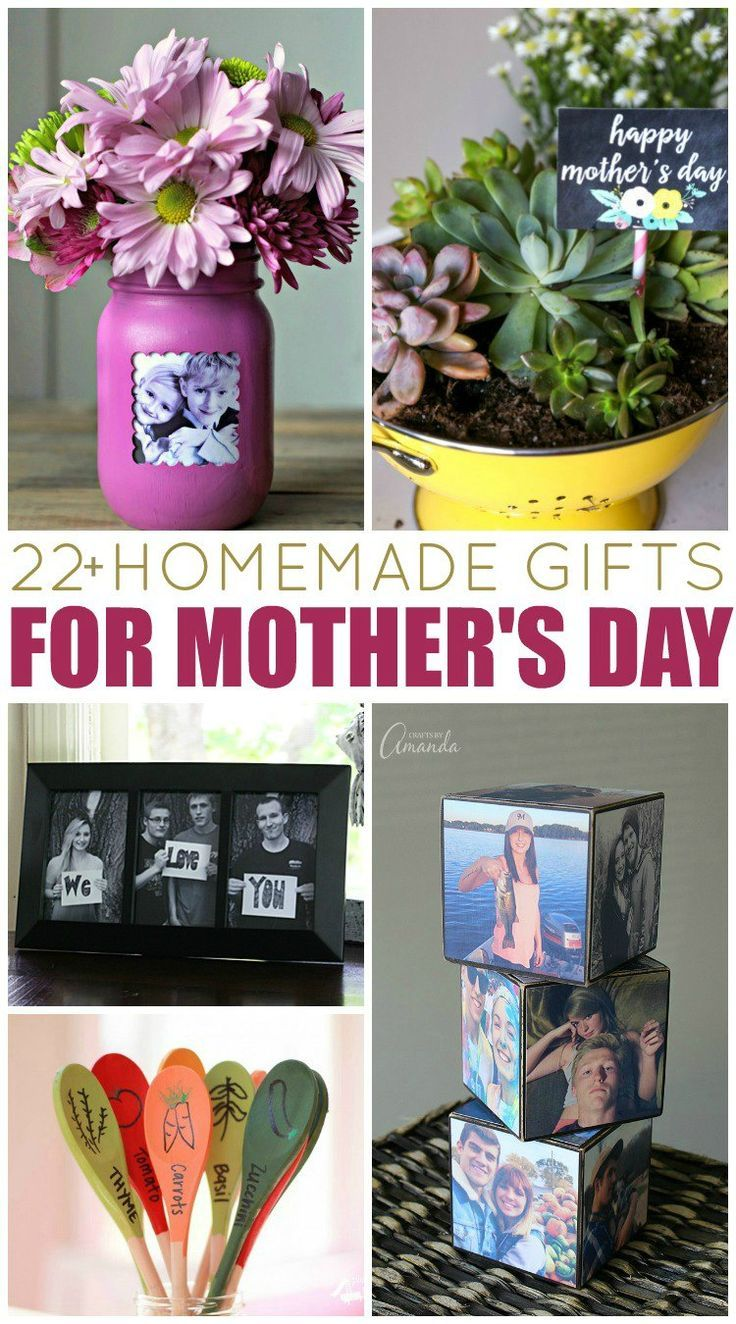 20+ homemade gift ideas for mother's day | homemade, gift and creative