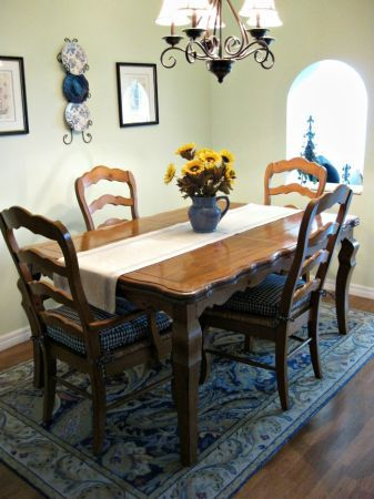 french country dining room table & 4 chairs | craigslist stuff