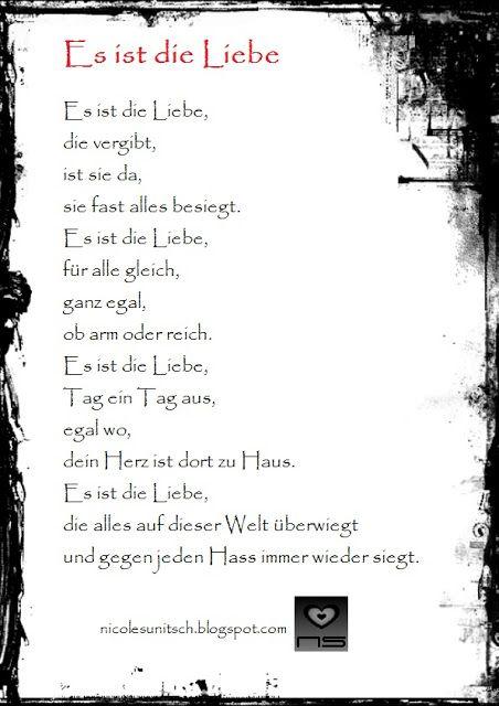gedichte der liebe