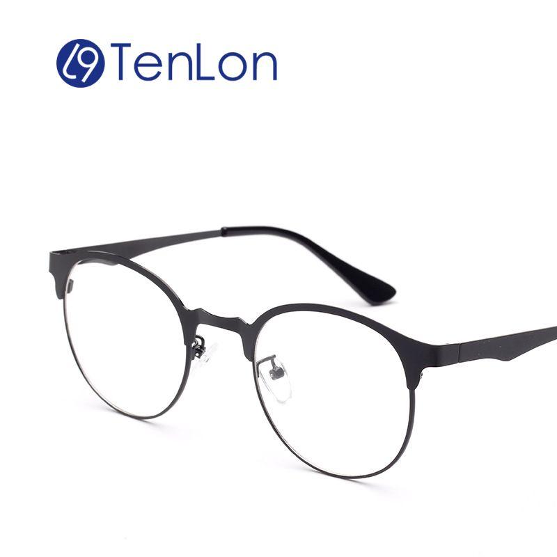 TenLon Super Light Thin Glasses Frame Prescription Fashion Women\'s ...
