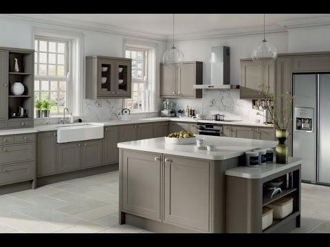 Gray Kitchen Cabinets Gray Kitchen Cabinets Ikea YouTube Our - Light grey kitchen cabinets ikea