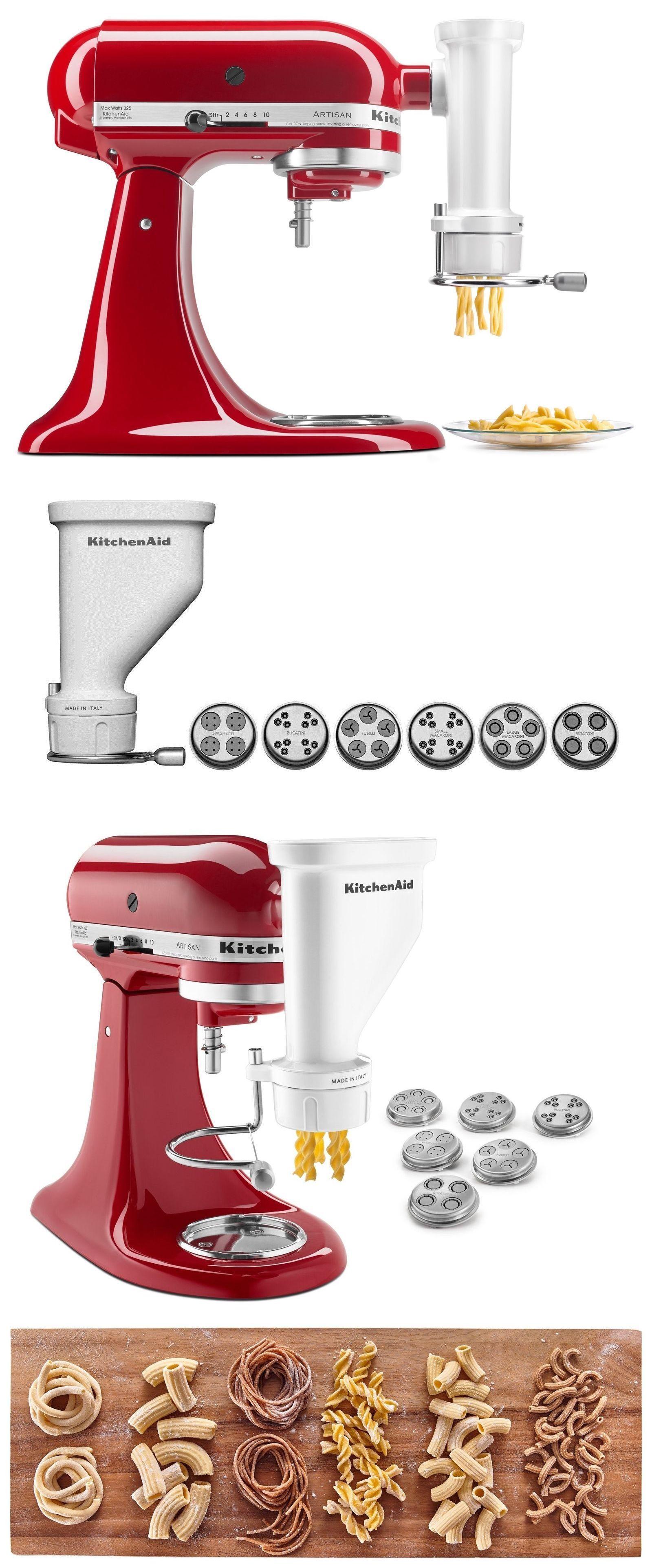 kitchenaid stand mixer attachments pasta