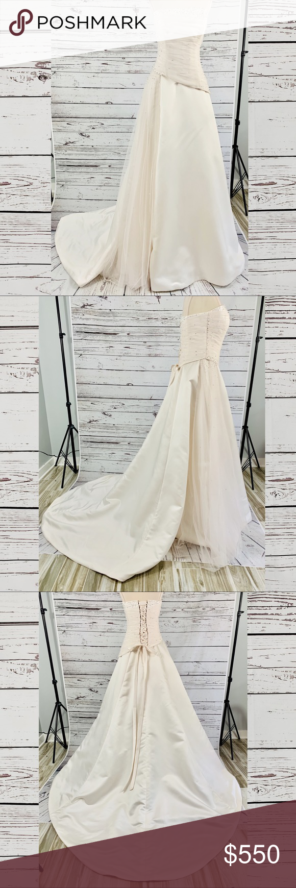 Spotted While Shopping On Poshmark Maggie Sottero Blush Wedding Gown Beaded Strapless Poshma Beaded Wedding Gowns Blush Wedding Gown Celebrity Wedding Gowns