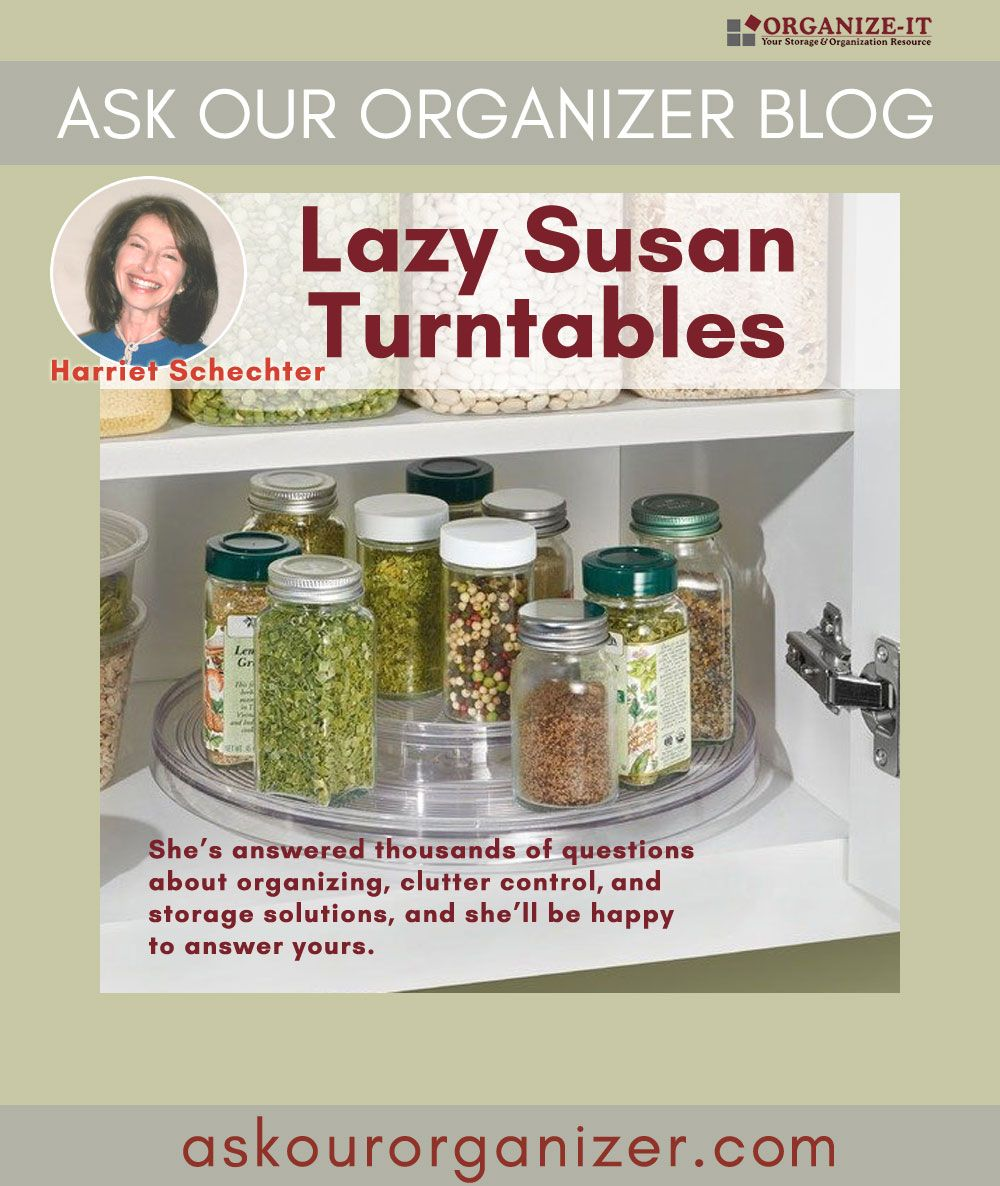 Lazy Susan Turntable Organizers Are The Organizing Lifesavers Of Your Kitchen Read About Three Diffe Modern Refrigerators Lazy Susan Types Of Kitchen Cabinets