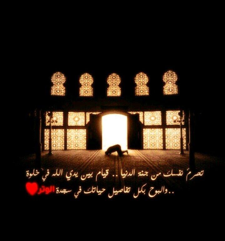سجدة الوتر Islam Arabic Words Words