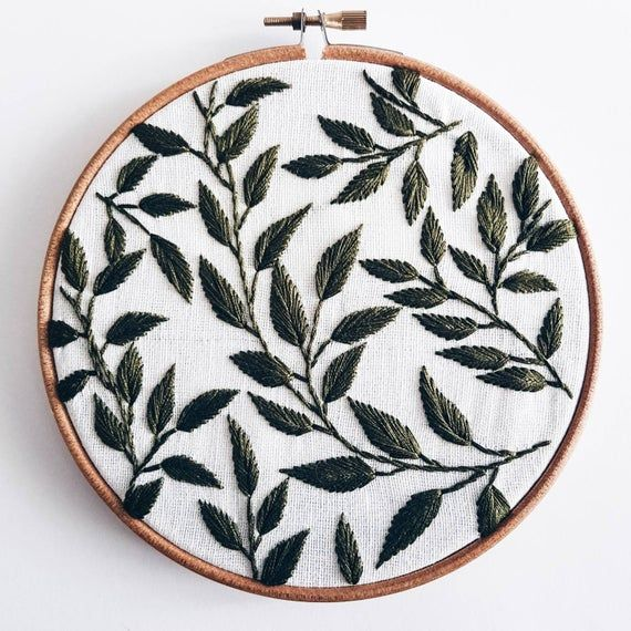 Hand embroidery - Embroidered wall hanging - Hoop art - Hand embroidery hoop art - Home decor - Wall decor - Wall hanging - cupofneedles
