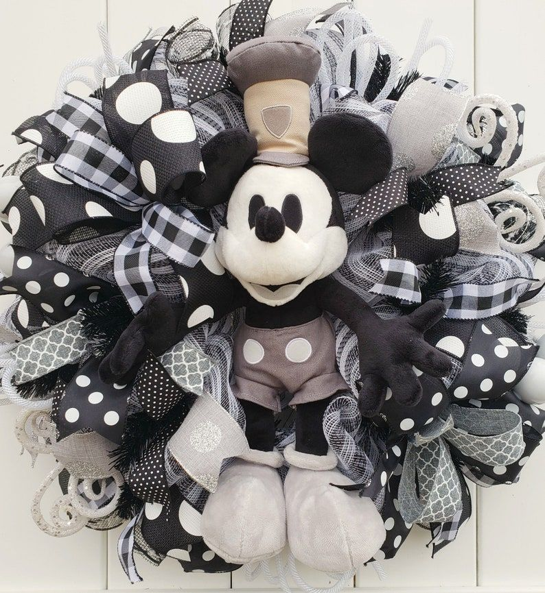 Mickey Wreath Classic Mickey Wreath Mickey Wreath for Front …