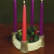 """Woodland Animals"" Advent Wreath Candleholder $47.95"