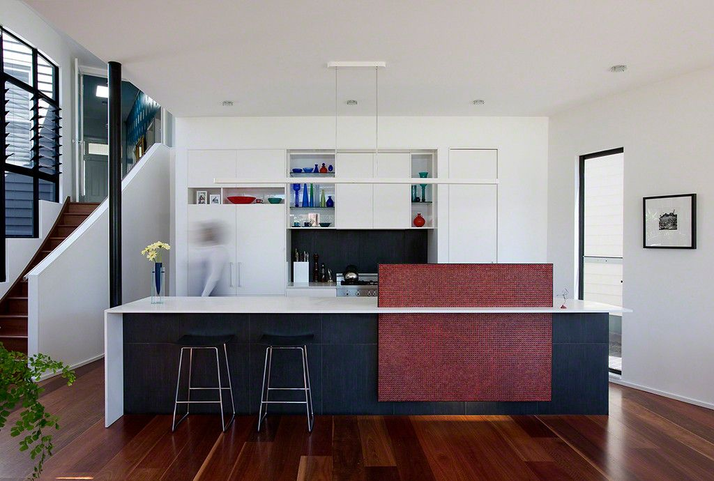 Hidden Sink Best Kitchen Layout Contemporary Kitchen Kitchen Island Bench