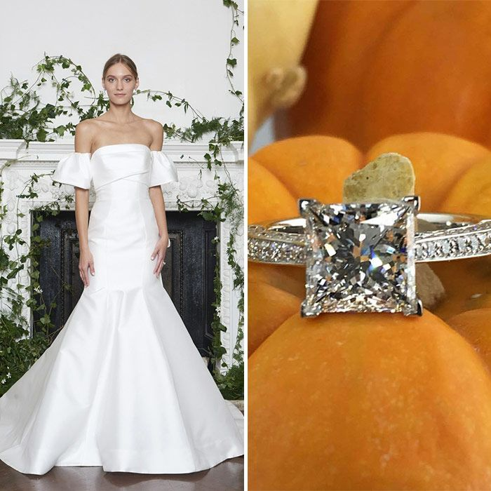 Take a look at our perfectly-paired NYBFW gowns and wedding rings ...