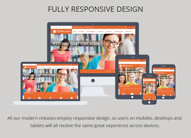 Bt Education Responsive Template For Joomla