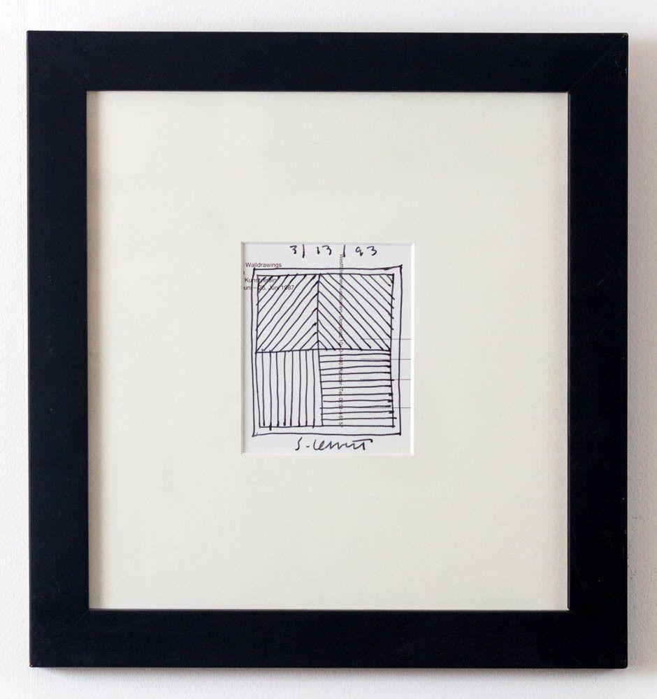 Cube | Sol LeWitt, Cube (1993)