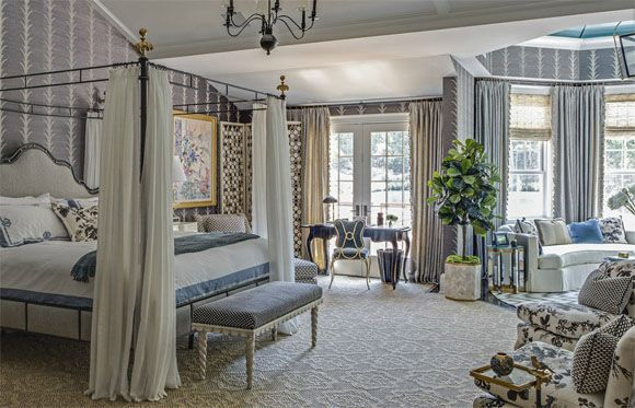 showhouse style master bedroom decor