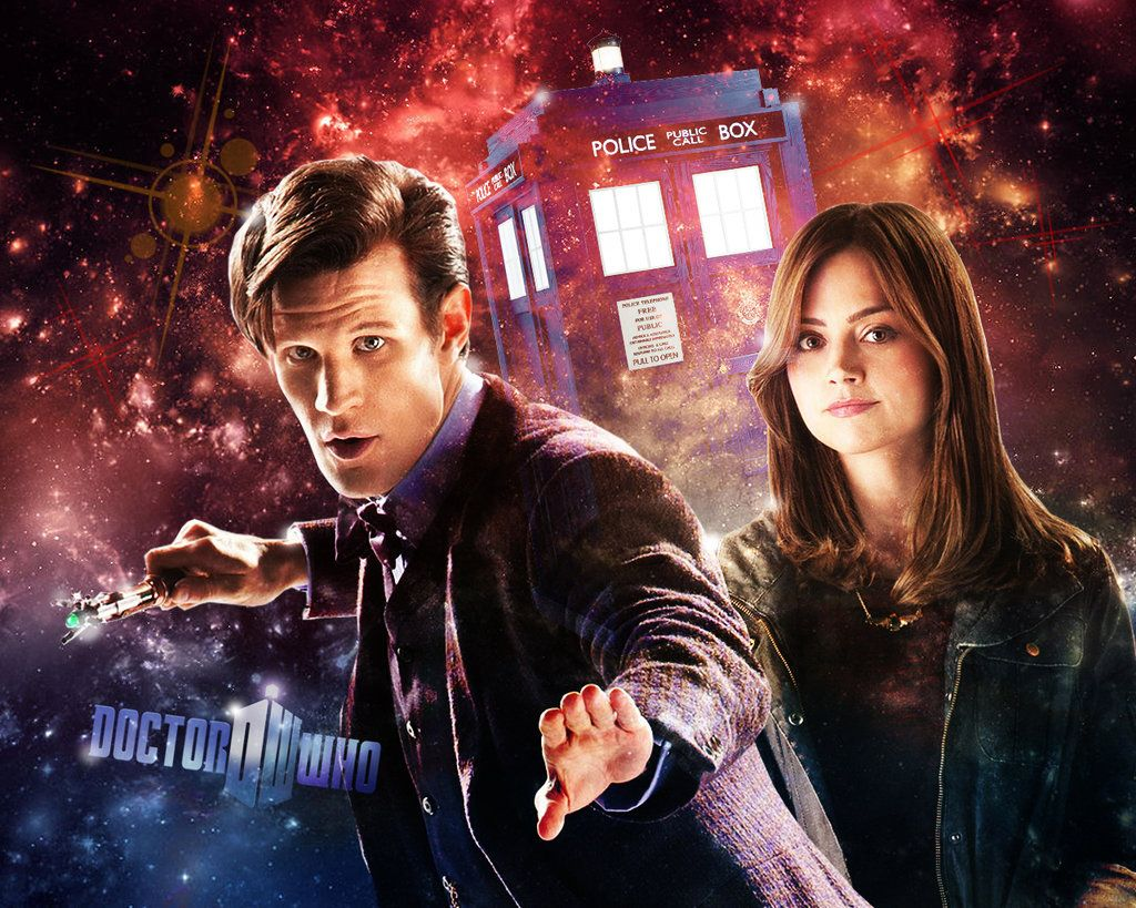 Doctor Who Wallpaper 11th Doctor And Clara By Wera1166