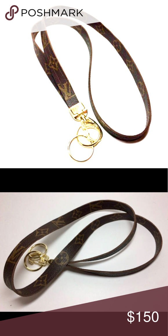 c647a068e6ed Louis Vuitton Lanyard Custom Louis Vuitton lanyard Louis Vuitton  Accessories Key   Card Holders