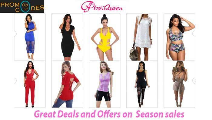 The Pink Queen is an internationational online store which provides excellent fashion products for women. Here you can receive all products in very suitable price. Company will give you many offers and discount deals available on Pink Queen. Save more money with Pink Queen Promo Codes and coupons on PromoOcodes. The firm brings steady sales to make every buyer to spend less. Pink Queen endow best sales on every festival for customers.